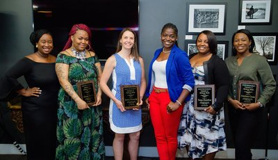 "Award Winners, Mahogany Bowers ""The Voice"" & Jennifer Graham 